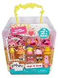 Lalaloopsy Minis - Mix 'n' Match - 7cm Modepuppe - Crumbs Sugar Cookie [UK Import]