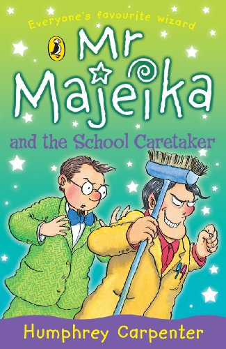 Mr Majeika and the school caretaker
