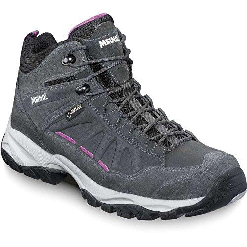MEINDL Chaussure de randonnée Nebraska Mid GTX pour Homme, Antharacite, 41.5