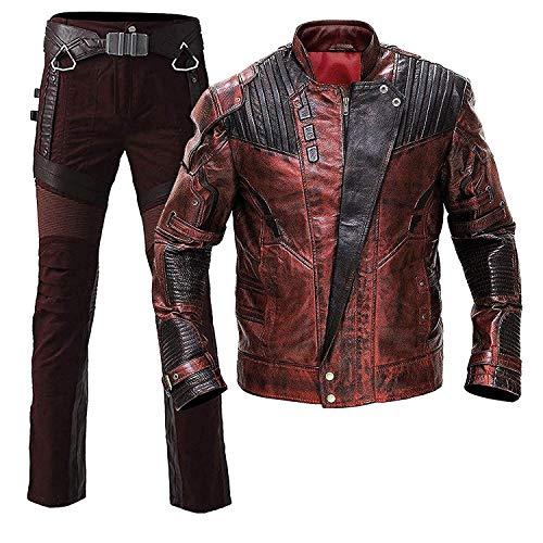 Lord Jacke Kostüm Star - e Genius Herren Daunenjacke Jacke Gr. Medium, rot