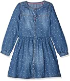 s.Oliver Mädchen Kleid Kurz, Blau (Blue Denim Non Stretch 56Y6), 98 (Herstellergröße: 98/REG)