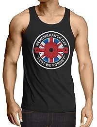 lepni.me Camisetas de Tirantes para Hombre Día de la conmemoración - para Que no