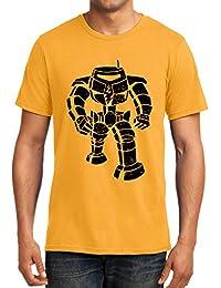 [Sponsored]GeekDawn Men's Round Neck Graphics T-Shirt|TV Series T-Shirt|BBT T-Shirt- Manbot