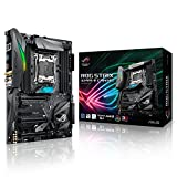 Asus ROG Strix X299-E Gaming Mainboard Sockel LGA 2066 (ATX, Intel, Aura Sync, DDR4 4133 MHz, Dual M.2, SATA 6Gb/s)