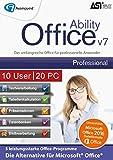 Ability Office 7 Professional - Business Lizenz für 10 Benutzer und bis zu 20 PCs! [Download]