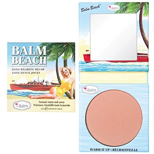 theBalm Balm Beach Powder Blush,1er Pack (1 x 6.39 g) -