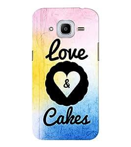 EPICCASE cake of love Mobile Back Case Cover For SAMSUNG Z2 (Designer Case)