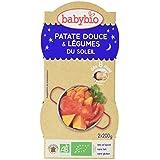 Babybio Bols Patate Douce/Légumes du Soleil 2x200 g -