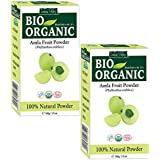 Indus Valley 100% Organic Amla Powder Natural And Fresh For Healthy Hair ( 200Gm.)
