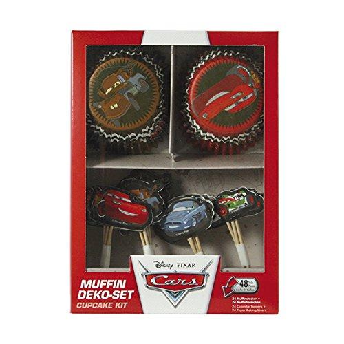 Dekoback 01-14-00728 Muffinset Disney Pixar Cars, 48 teilig