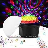 Luce Mini 9 Colori Magic Ball, Multipla Lampada modalità di Cristallo Starball, LED Illuminazione della Fase Effetto Luminoso, USB Operated, Musica Natale KTV del Partito della Decorazione