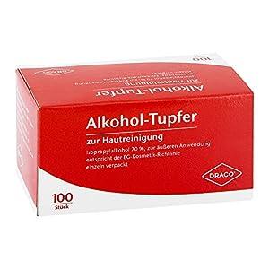 Alkoholtupfer einzeln ver 100 stk