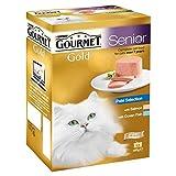 Gourmet Gold Senior Pastete Rezepten Gemischt Fisch Variety Pack 12 X 85G (Packung mit 2)