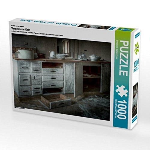 Ein Motiv aus dem Kalender Vergessene Orte 1000 Teile Puzzle quer: Die Küche (CALVENDO Orte)