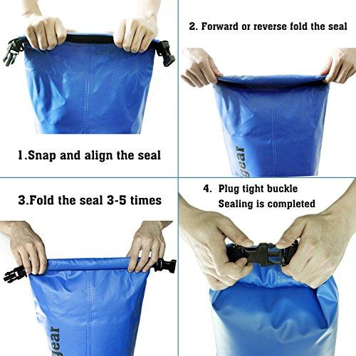 Wasserfester Packsack mit Handyhülle im Test & Preis-Leistungsvergleich - 6