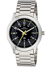 Maxima Attivo Collection Analog Black Dial Men's Watch - 36592CMGI