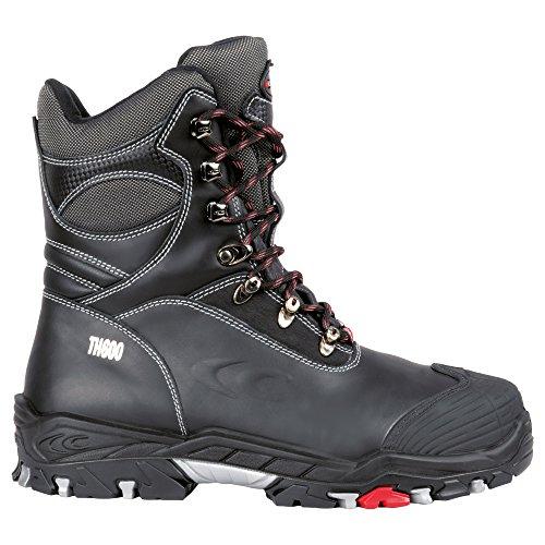 Preisvergleich Produktbild Cofra Winter Sicherheitsstiefel S3 Bering BIS 25312-001, warm gefütterte, isolierte Arbeitsstiefel, Größe 41, schwarz, 25312-001
