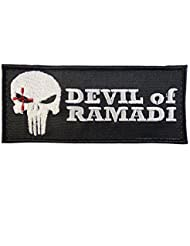 American Sniper Devil of Ramadi Navy Seal Team DEVGRU Morale Fastener Patch