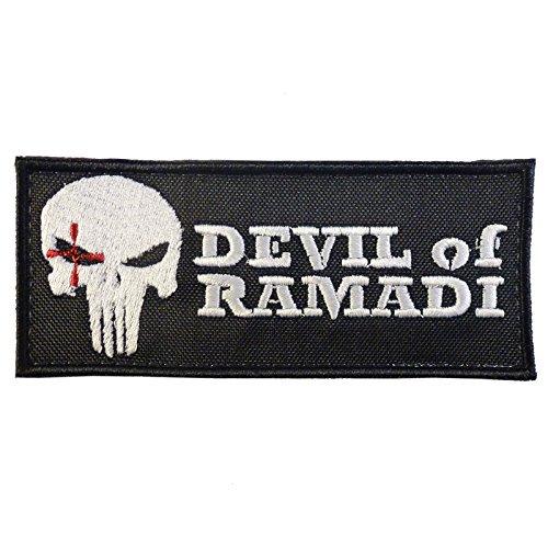American Sniper Devil of Ramadi Navy Seal Team DEVGRU Morale Fastener Patch