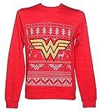 DC Comics Wonder Woman Weihnachtspullover