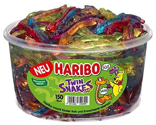 Haribo Twin Snakes 150 St, 3er Pack (3 x 1.05 kg)