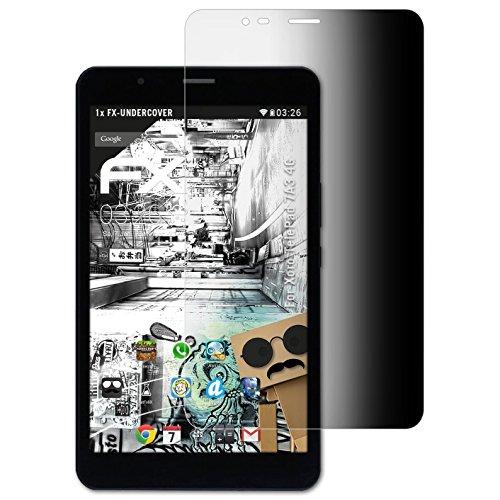 atFolix Blickschutzfilter für Xoro TelePad 7A3 4G Blickschutzfolie, 4-Wege Sichtschutz FX Schutzfolie