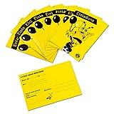 Unbekannt Borussia Dortmund Emma-Einladungskarten (10 Stück), Karten - Plus Gratis Lesezeichen I Love Dortmund