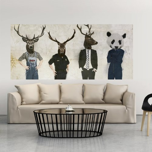 Preisvergleich Produktbild Wand Bilder Panels 227x100 cm ! Top Deko Tapete XXL Panorama Abstrakt Vlies FotoTapete XXL 11010901-7