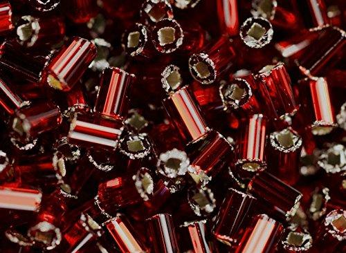 bugles-r-sh-20gr-ca-1400-stk-preciosa-tschechische-glasperlen-signalhrner-rundprofil-mit-einem-quadr