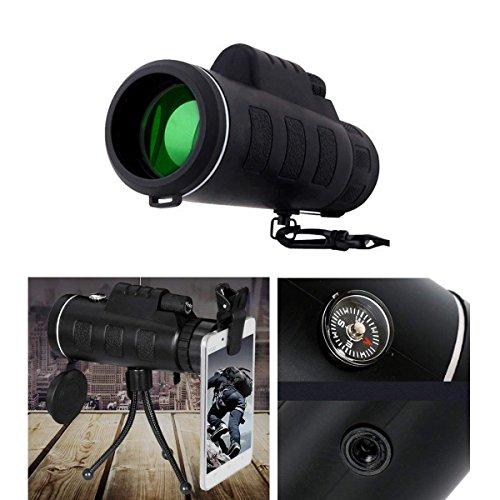 Telescopio Monocular 40 X 60 HD Zoom Óptico Telescopio Impermeable y a Prueba de Niebla para...