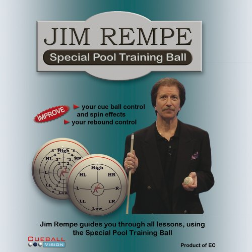 Jim Rempe Special Pool Trainingsball