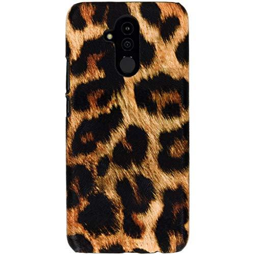 hCase Huawei Mate 20 Lite Hülle - Leopard, Wildkatze, Tiermuster - Hard Case Handyhülle