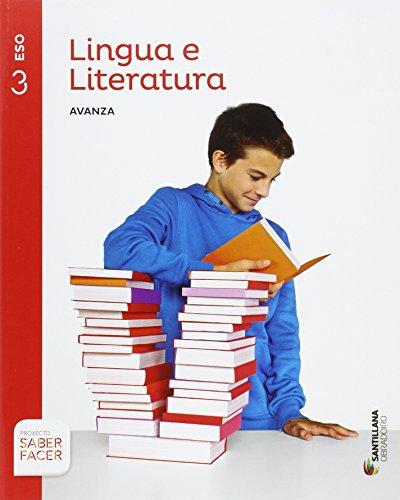 LINGUA E LITERATURA SERIE AVANZA 3 ESO SABER FACER - 9788499722801