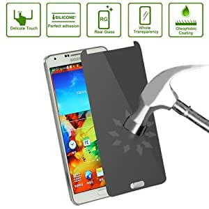 0.4mm High Quality 180 Degree Privacy Anti Glare Screen Protector for Samsung Galaxy Note 2I N9000