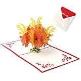 Dabixx Alles Gute zum Geburtstag Frohe Weihnachten Karte 3D Pop Up Grußkarte Handgemachte Geld Baum