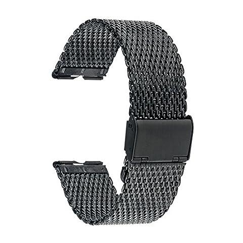 TRUMiRR Milanese bande de montre bracelet en