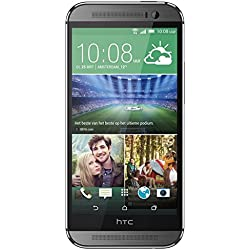 "HTC One (M8) - Smartphone libre Android (pantalla 5"", cámara 4 Mp, 16 GB, Quad-Core 2.3 GHz, 2 GB RAM), gris"