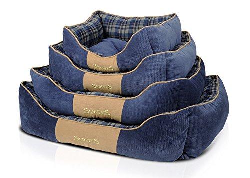 Scruffs-Highland-Dog-Bed-Medium-60-x-50-cm-Blue