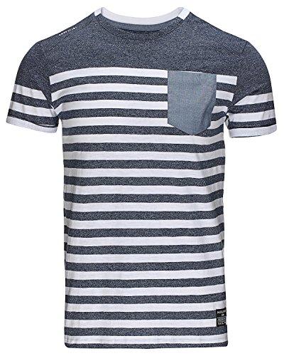 Jack & Jones 'Rajib' T-Shirt Dunkelblau