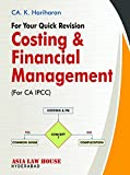 For Your Quick Revision Costing & Financial Management
