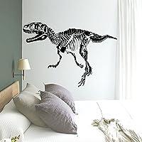 Udane Dinosaurios Fósiles Silueta Pegatinas Pared Etiquetas Extraíbles Decoración Mural para Cocina Dormitorio Sala de estar