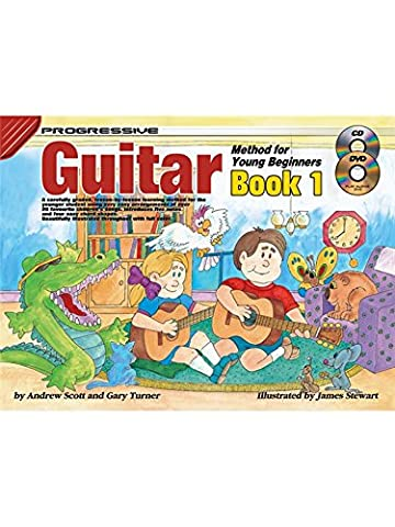 Progressive Guitar Method For Young Beginners: Book 1 - Sheet Music, Book, CD, DVD (Region 0)