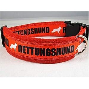 Halsband Rettungshund Größe ML 45-50 cm Halsumfang