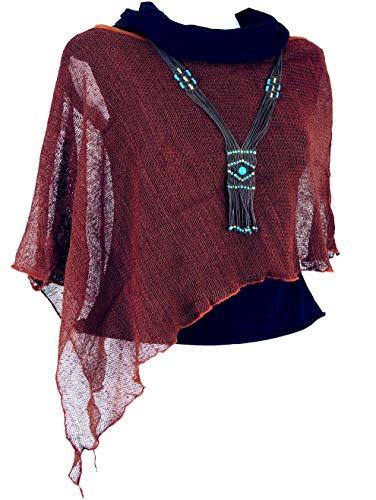 Guru-Shop Giacca Nepal Giacche e Poncho Cardigan Giacca in Lana e Lana