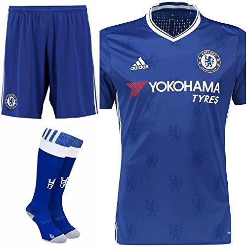 Chelsea Home Full Kit Shirt Shorts   Socks Kids  11-12 Years  152