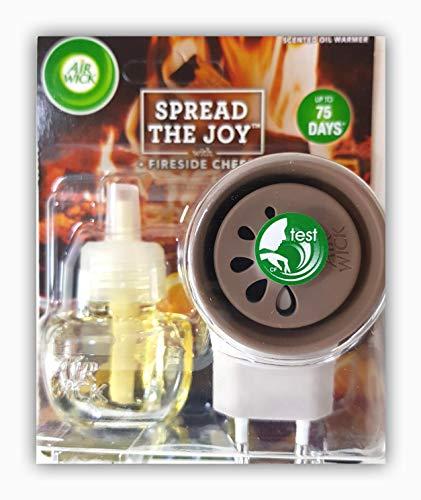 Airwick elektrischer Duftzerstäuber mit Nachfüller Fireside Cheer-Duft 19 ml