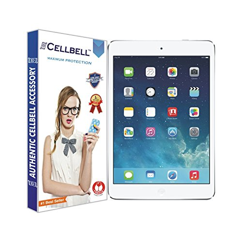 Cellbell Premium Apple iPad Air / iPad Air 2 (Clear) Tempered Glass Screen Protector (Comes with Warranty,User guide,Complimentary Prep cloth)