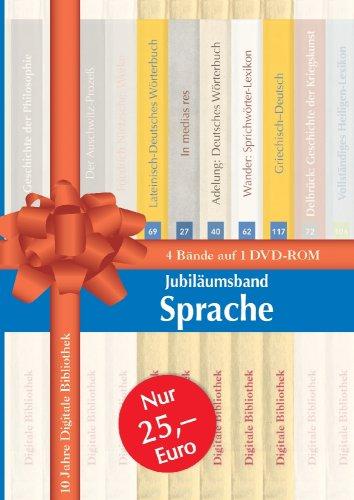 Jubiläumsband Sprache. DVD-ROM für Windows.