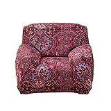 VORCOOL Sofahusse Sofabezug Stretch Sofa Schutz 90x140cm elastische Sofaüberwürfe für 1 Sitzer (5)