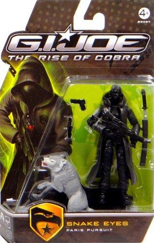 G.I. Joe Snake Eyes Paris Pursuit - The Rise of Cobra - Actionfigur von Hasbro (Gi Joe Snake Eyes)